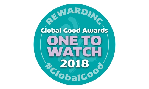 Global Good Awards One to Watch 2018