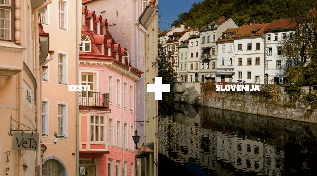 Landmarks in Slovenia and Estonia