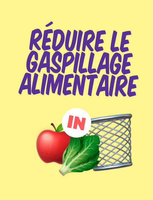 Fruit and veg by a bin, Réduire le gaspillage alimentaire