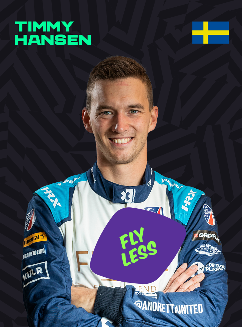 Timmy Hansen profile with a Count Us In sticker